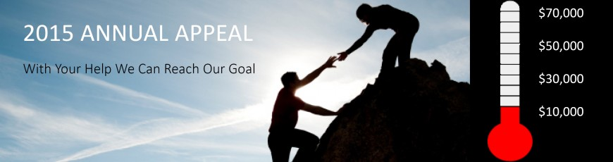 2015 BPSI Annual Appeal Goal $70,000