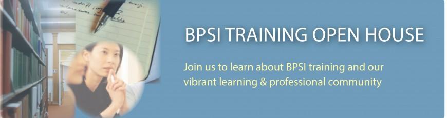 Training application deadline (for all programs): April 11