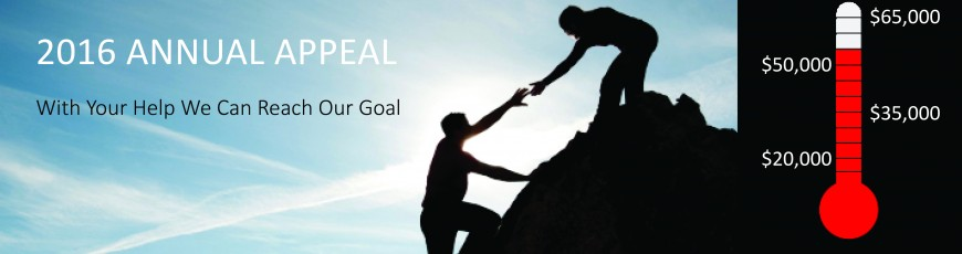 2016 BPSI Annual Appeal Goal $65,000