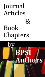 Journal Articles and Book Chapters by BPSI Authors